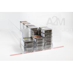Ensemble complet pour un linéaire tabac avec paquets de cigarettes disposés à l'horizontale/couchés